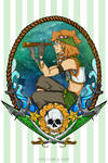 Voltron Pirate AU - Pidge (Sailing Master)