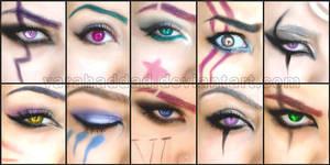 League of Legends eyes makeup