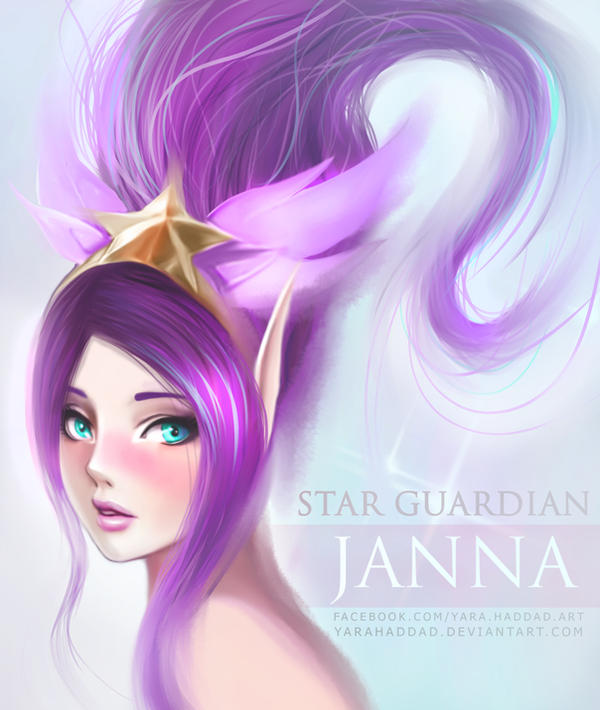 Star Guardian Janna by yarahaddad