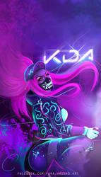 KDA Akali by yarahaddad