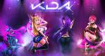 K/DA League of Legends by yarahaddad