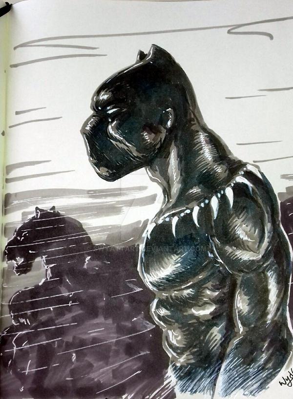 Black Panther by swyattart