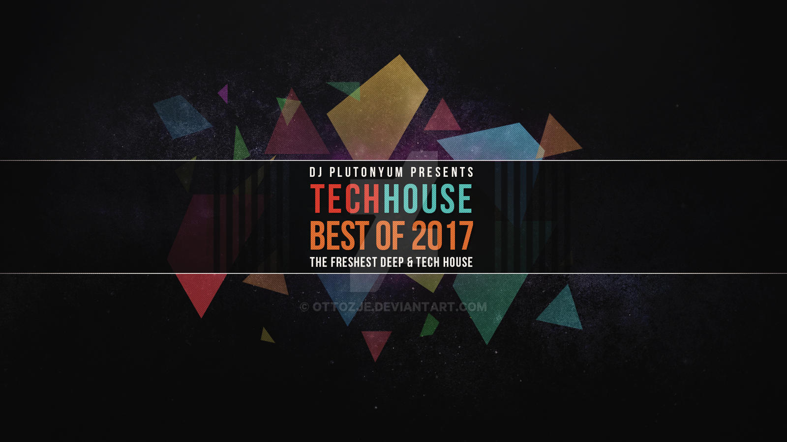 Tech House Best Of 2017 Youtube Background By Ottozje On