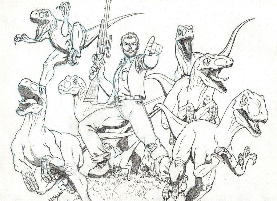 Jurassic World By MarcAhix On DeviantArt