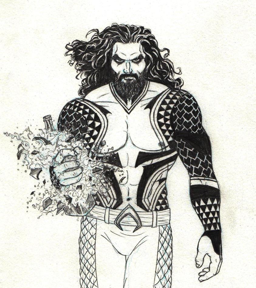Aquaman by marcAhix