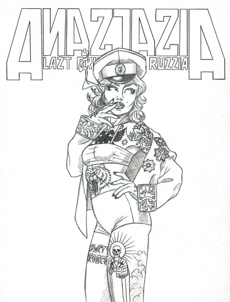 Anastasia, Last Princess of Russia by marcAhix
