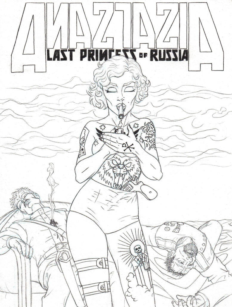 Anastasia, Last Princess of Russia by marcAhix