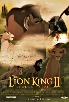 The Lion King II/The Return of the King Poster by ...