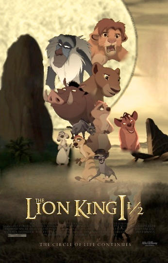The Lion King 1 5 The Two Towers Poster Redone By Darthmaul1999 On Deviantart