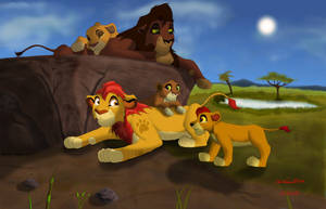 Uncle Kion by Darthmaul1999