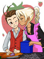 Kiss by chocolate-scone