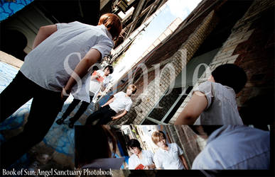Angel Sanctuary Photobook at SMASH 2012 by kaiya-02