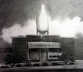 Classen Milk Bottle by tbonematrix