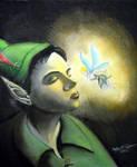 Peter Pan and Tink