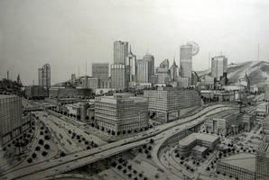 City Scape 1 by tbonematrix