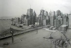 Cityscape 2 by tbonematrix