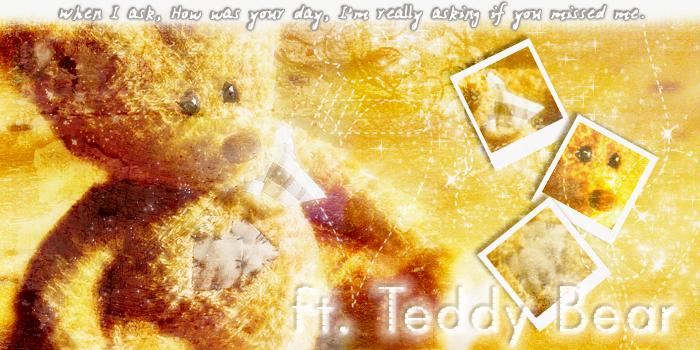 Teddy Bear. by winter-melody