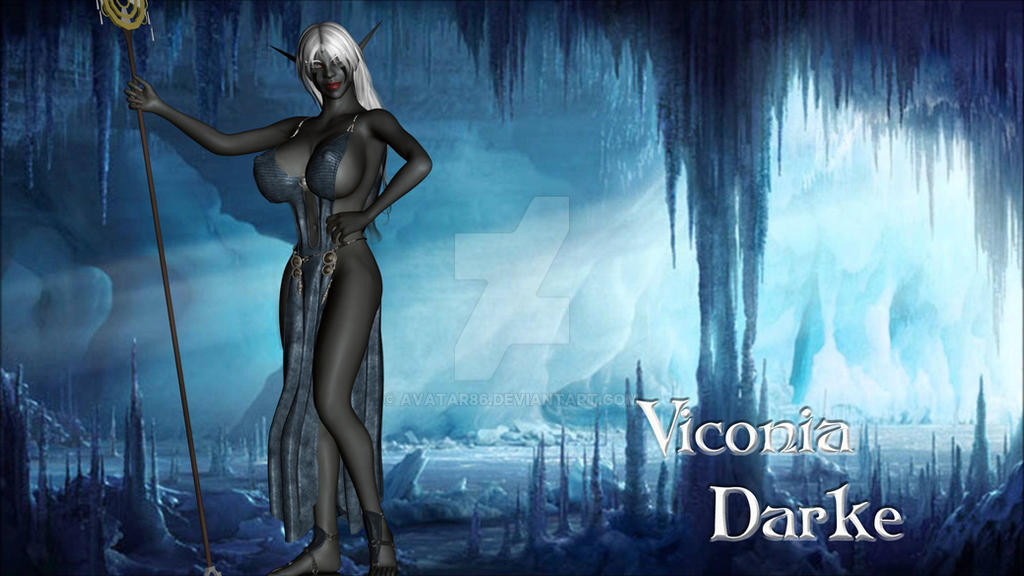 Elf Rally: Viconia in the Caves by Avatar86