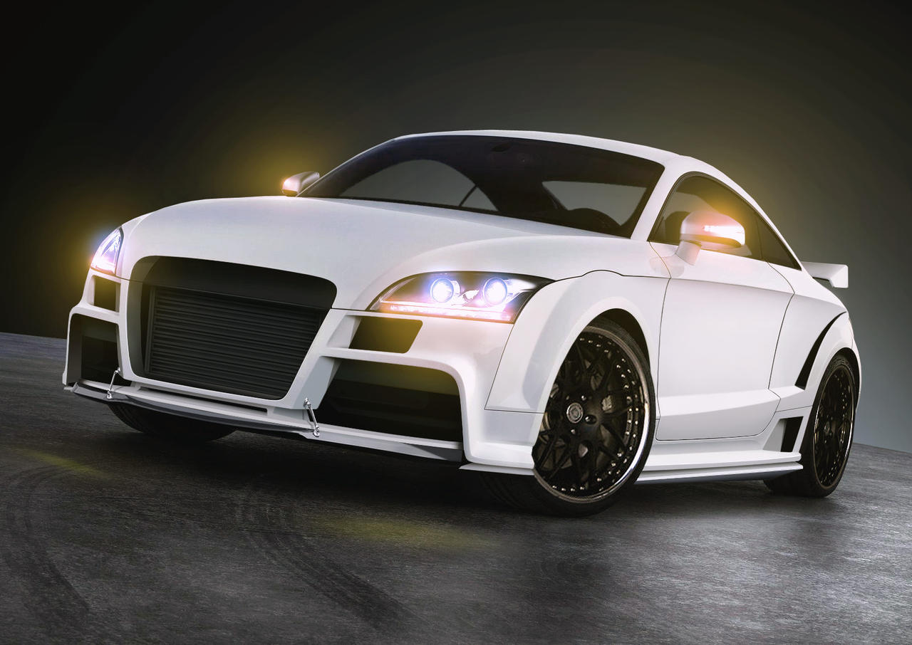 audi tt rs tuning by the alkspain on deviantart. Black Bedroom Furniture Sets. Home Design Ideas