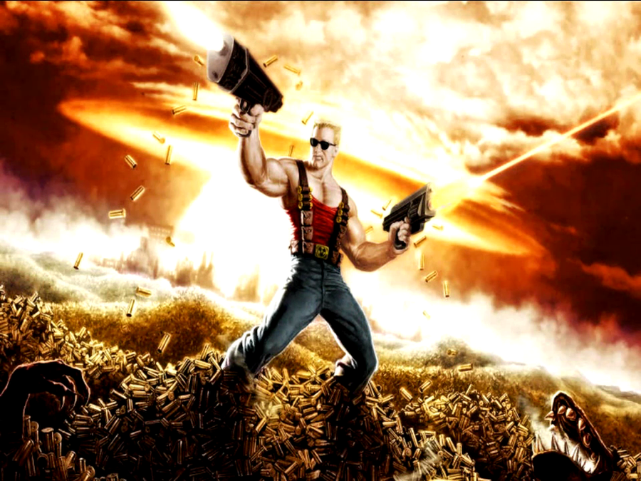 Duke Nukem Wallpaper by TheRumbleRoseNetwork