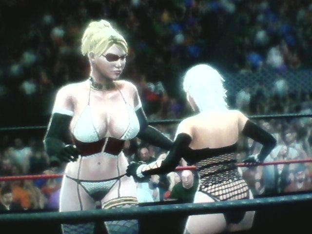 WWE 2K14: Mistress Spencer vs Christie by TheRumbleRoseNetwork