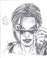 Lara Pencil by littlesusie2006