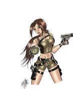 Lara Croft Underworld by littlesusie2006