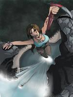 Lara Croft Tomb Raider 2012 by littlesusie2006