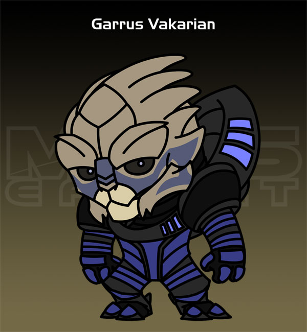Mass Effect - Garrus Vakarian by criz