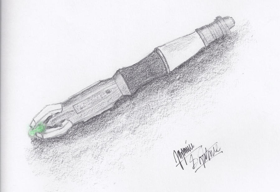 11th Doctor's Sonic Screwdriver - 97.0KB