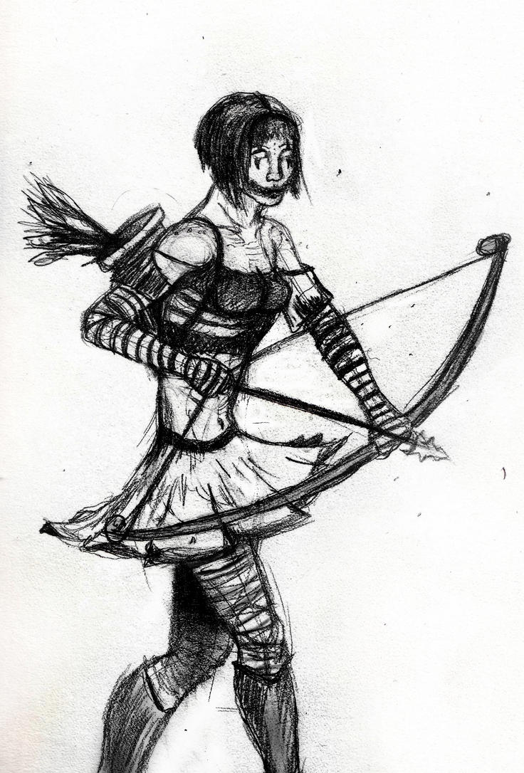 Mime Archer by Valiant-Werewolf