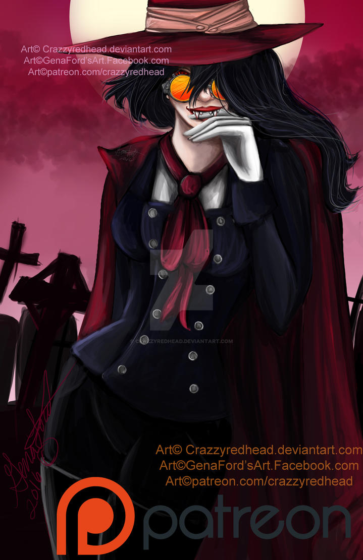 Alucard Hellsing GenderBend by crazzyredhead