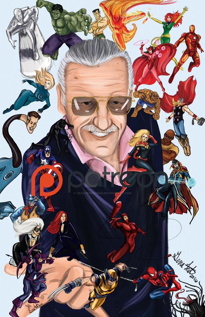 Stan Lee by crazzyredhead