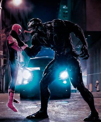 Spider-man Vs Venom by alfonsopina887