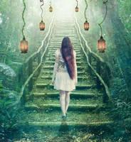 Stairway to... Life by ValentinaWhite
