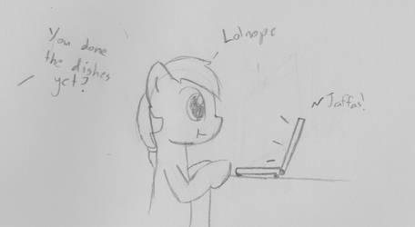 Procrastinator by Delta-Pangaea