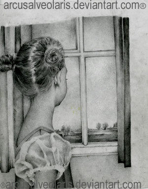 At the window by Arcusalveolaris