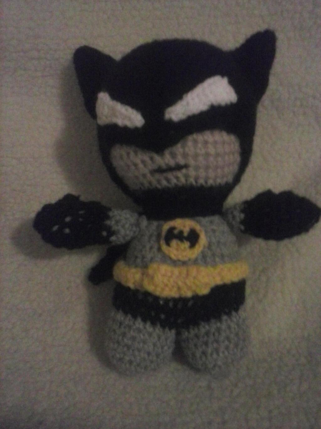 Amigurumi Batman Deutsch : Batman Amigurumi by glittersprite on DeviantArt