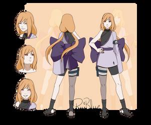 Reference Akarui's gennin by RuiBlue