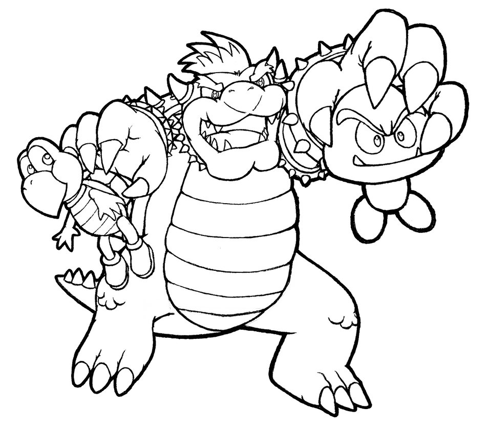 Bowser And The Koopa Troop Invade By Realarpmbq On Deviantart