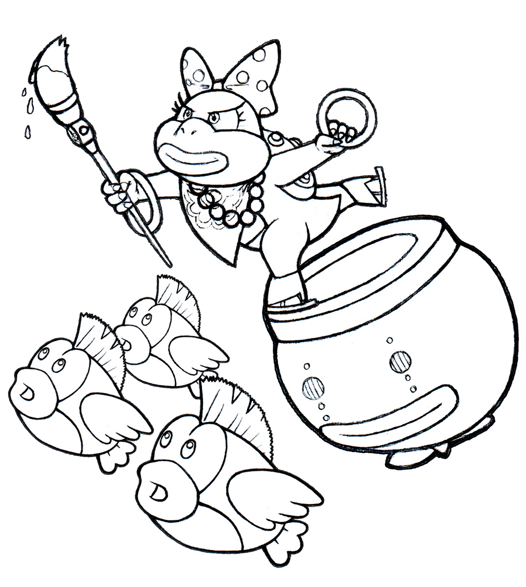 koopa clown car coloring pages coloring pages