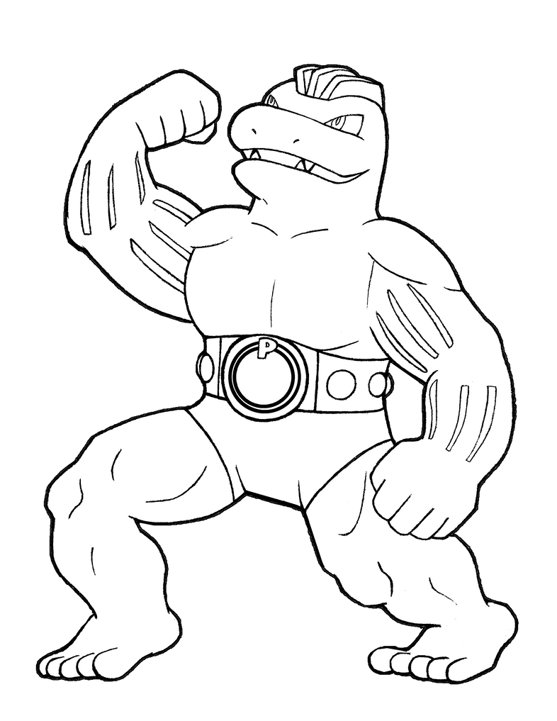 #067 Chuck/Maylene/Korrina's Machoke by realarpmbq on ...