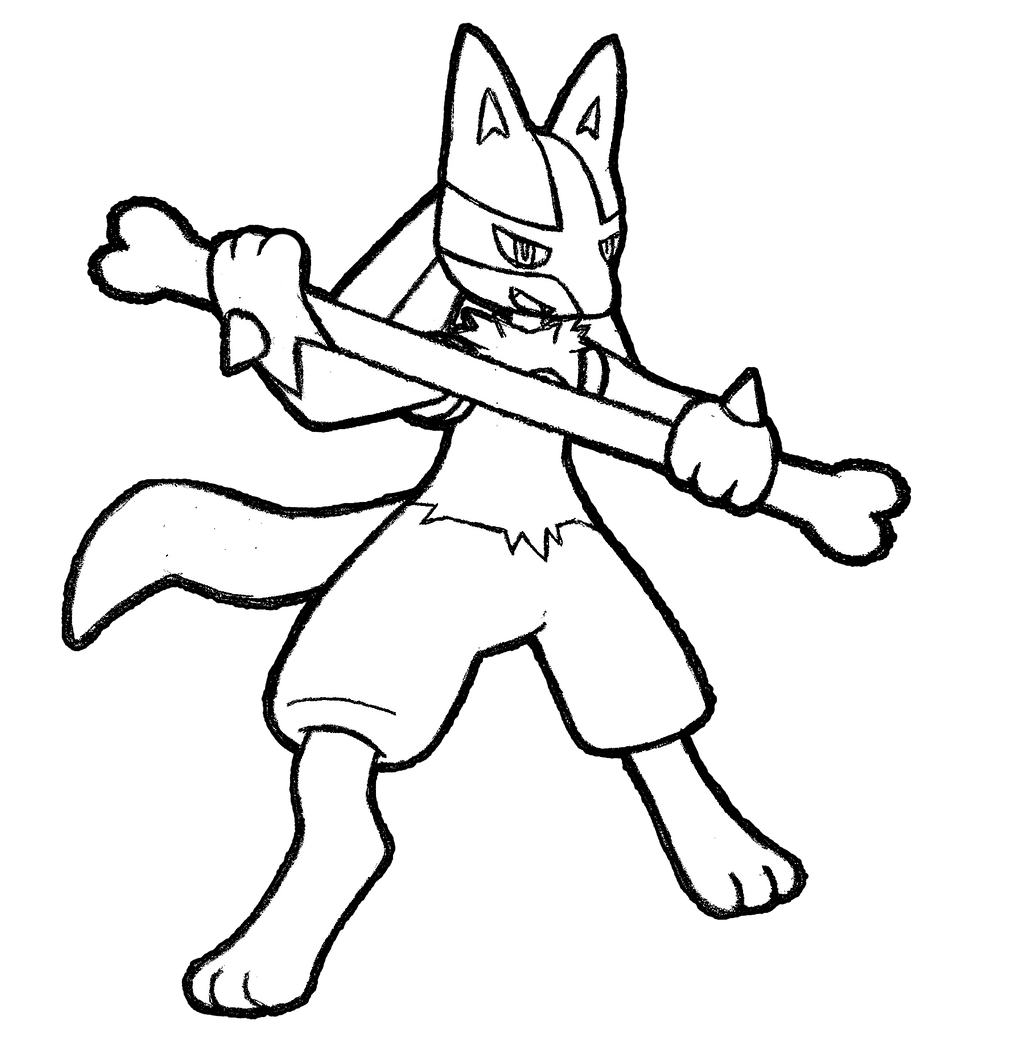 448 maylene korrina 39 s lucario by realarpmbq on deviantart for Pokemon coloring pages lucario