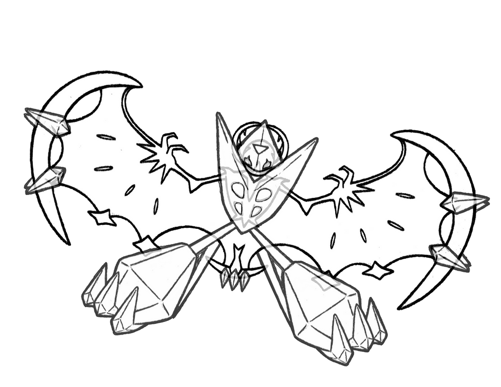 800 Dawn Wings Necrozma by realarpmbq