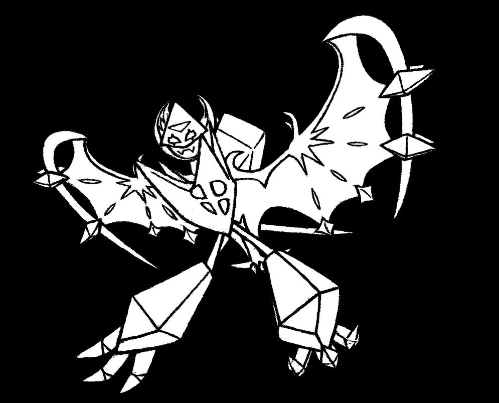 800 Dawn Wings Necrozma 2 by realarpmbq on DeviantArt