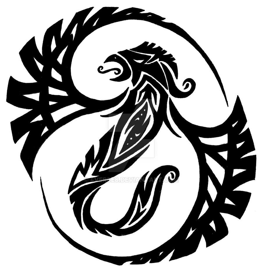 Phoenix Tattoo by 4verse8