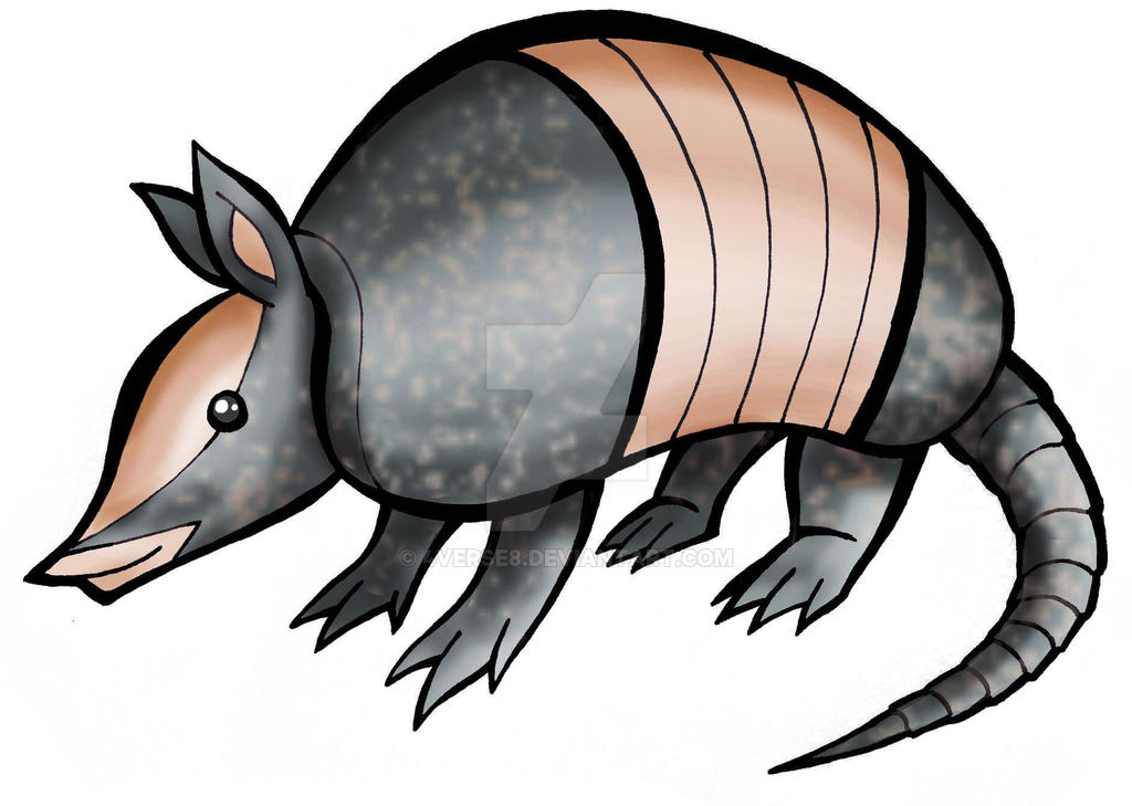 Creature Series - Nine-banded Armadillo by 4verse8