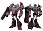 Transformers animated Megatron full Bio.