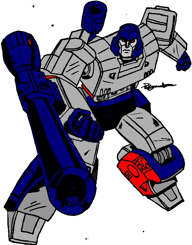 Transformers 1984 Megatron comic book colors by DCSPARTAN117 on ...
