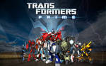 Transformers Prime poster.